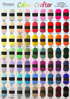 Scheepjes Colour Crafter en Colour Crafter Velvet
